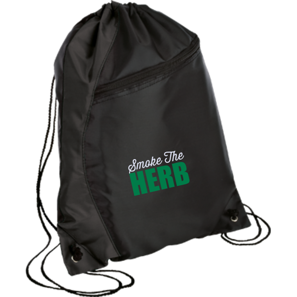 Smoke The Herb Drawstring Bag