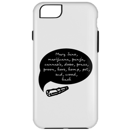 Weed Words iPhone 6 Plus Tough Case