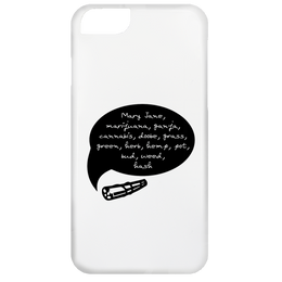 Weed Words iPhone 6 Case