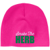 Smoke The Herb Beanie