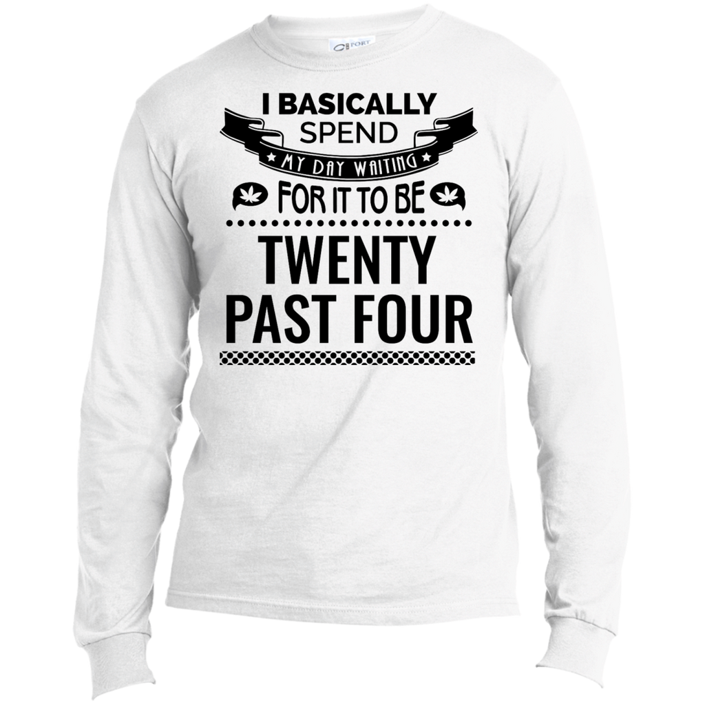 Waiting For 20 Past 4 Men's Long Sleeve
