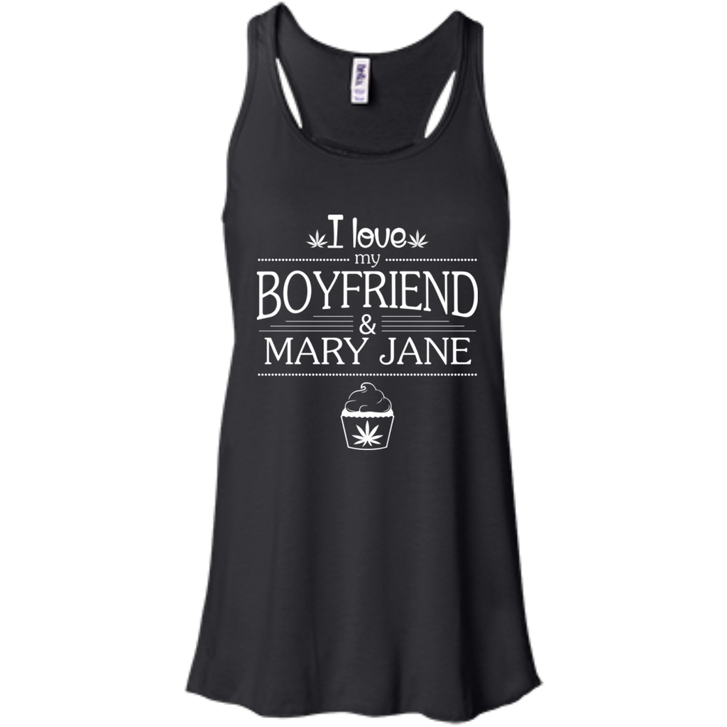 My Boyfriend & Mary Jane Flow Tank