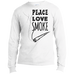 Peace Love Smoke Men's Long Sleeve T-Shirt