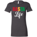 Rasta Life Ladies T-Shirt