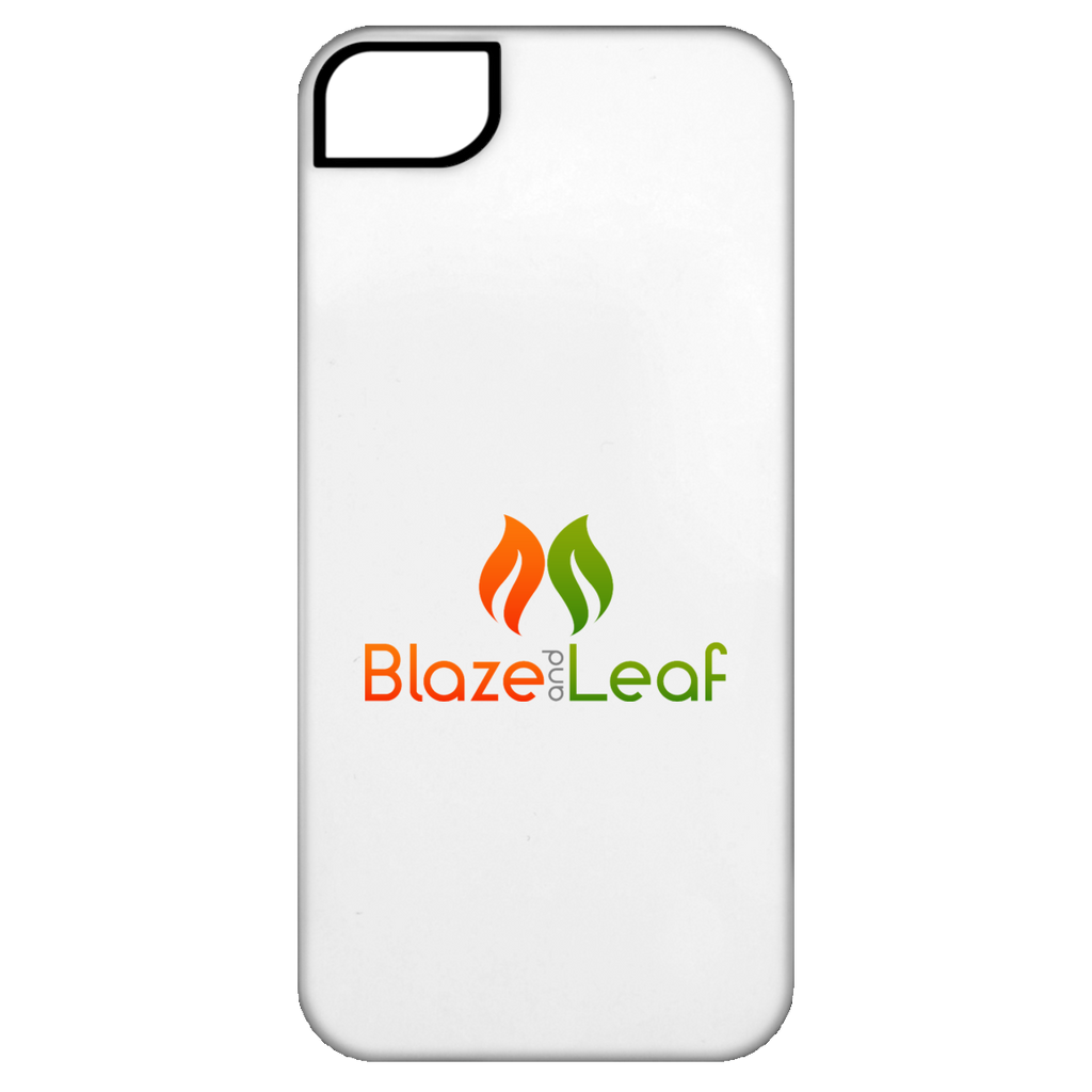 Blaze And Leaf Logo iPhone 5 Tough Case