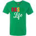 Rasta Life Men's V-Neck T-Shirt