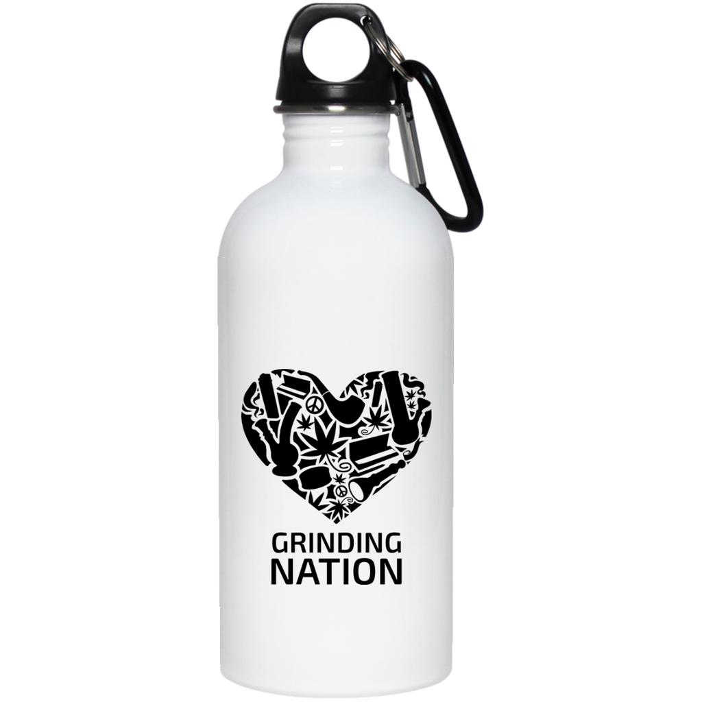 Grinding Nation Water Bottle