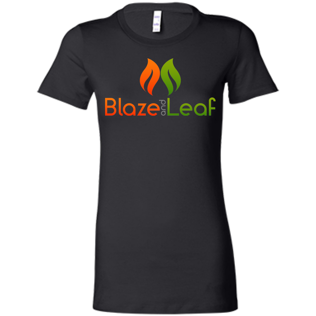 Blaze And Leaf Ladies T-Shirt