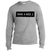 Have A Nice J Men's Long Sleeve T-Shirt