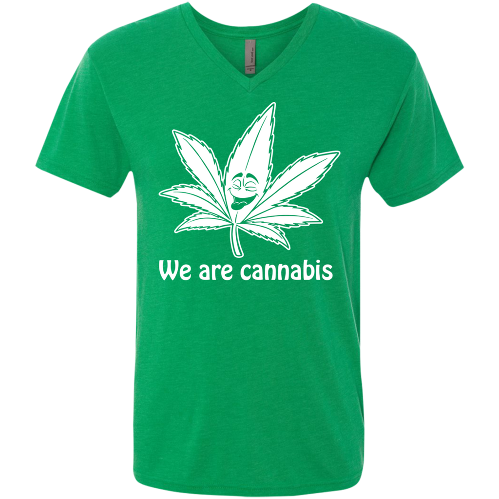 We Are Cannabis Men's V-Neck T-Shirt