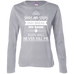 Kill Me Ladies Long Sleeve T-Shirt