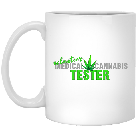 Volunteer Cannabis Tester Mug