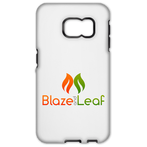 Blaze And Leaf Logo Samsung Galaxy S6 Edge Tough Case