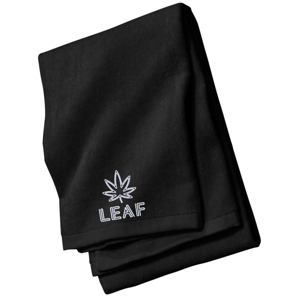 Leaf Beach and Bath Towel