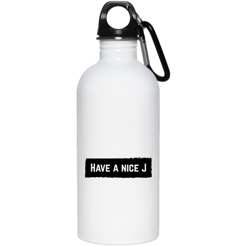 Have A Nice J Water Bottle