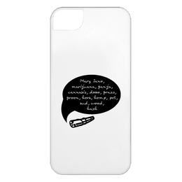 Weed Words iPhone 5 Case