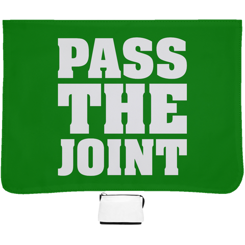 Pass The Joint Messenger Bag