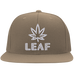 Leaf Flat Bill Cap