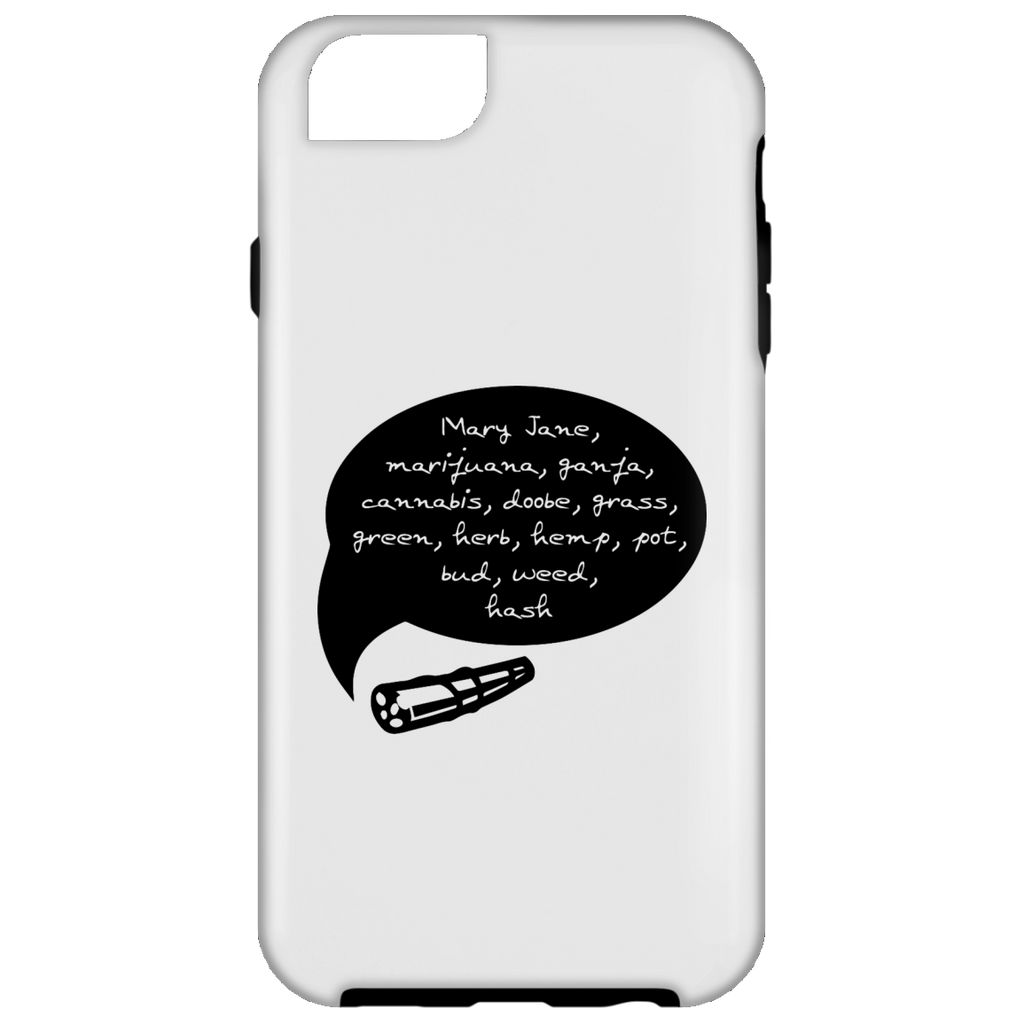 Weed Words iPhone 6 Tough Case