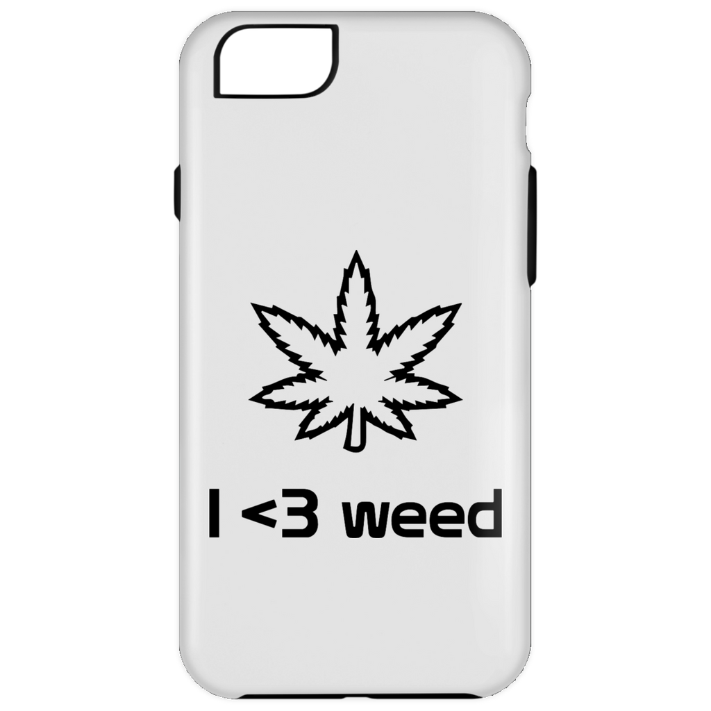 I <3 Weed iPhone 6 Plus Tough Case