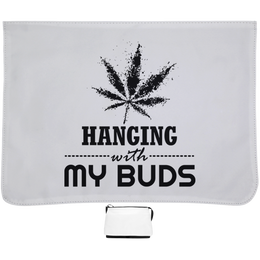 Hanging With My Buds Messenger Bag