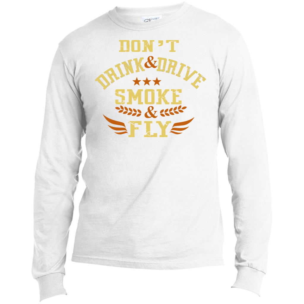 Don't Drink And Drive Men's Long Sleeve T-Shirt