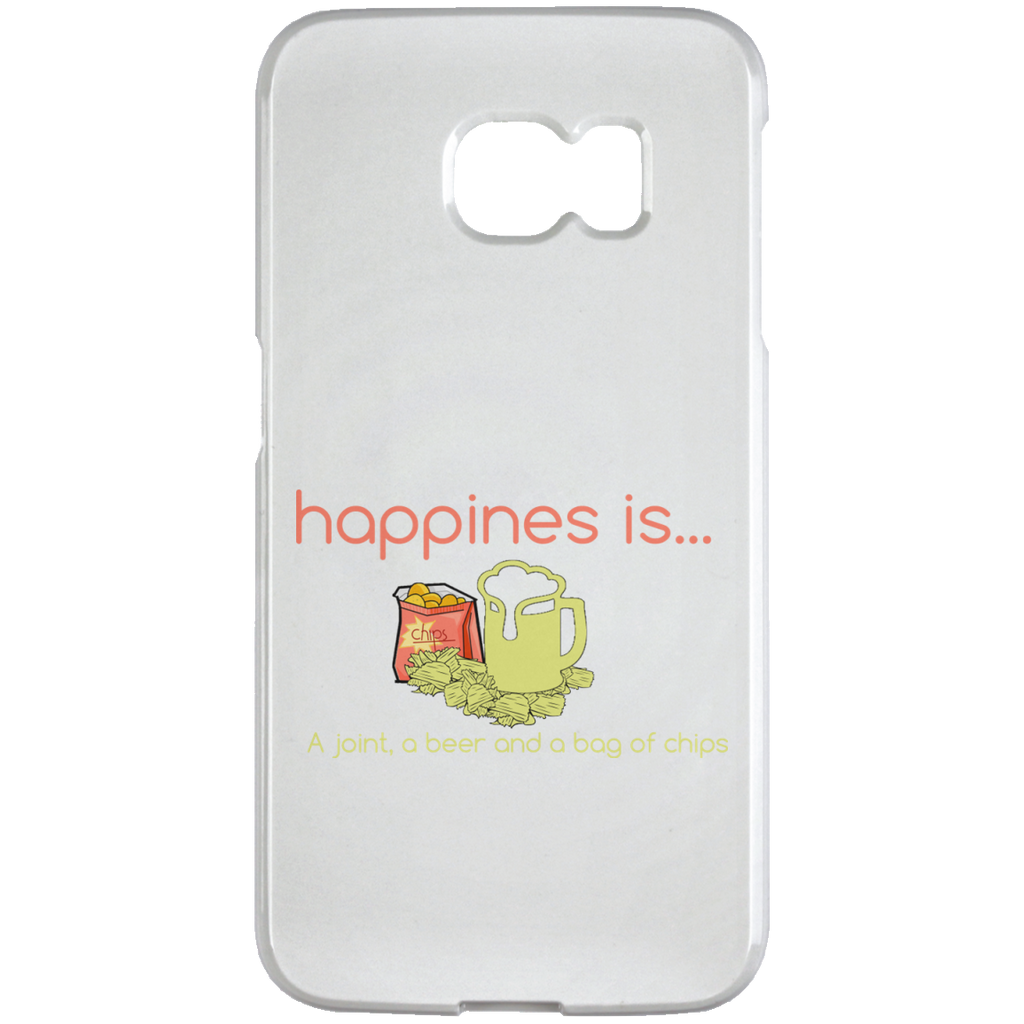 Happiness Is.... Samsung Galaxy S6 Edge Case