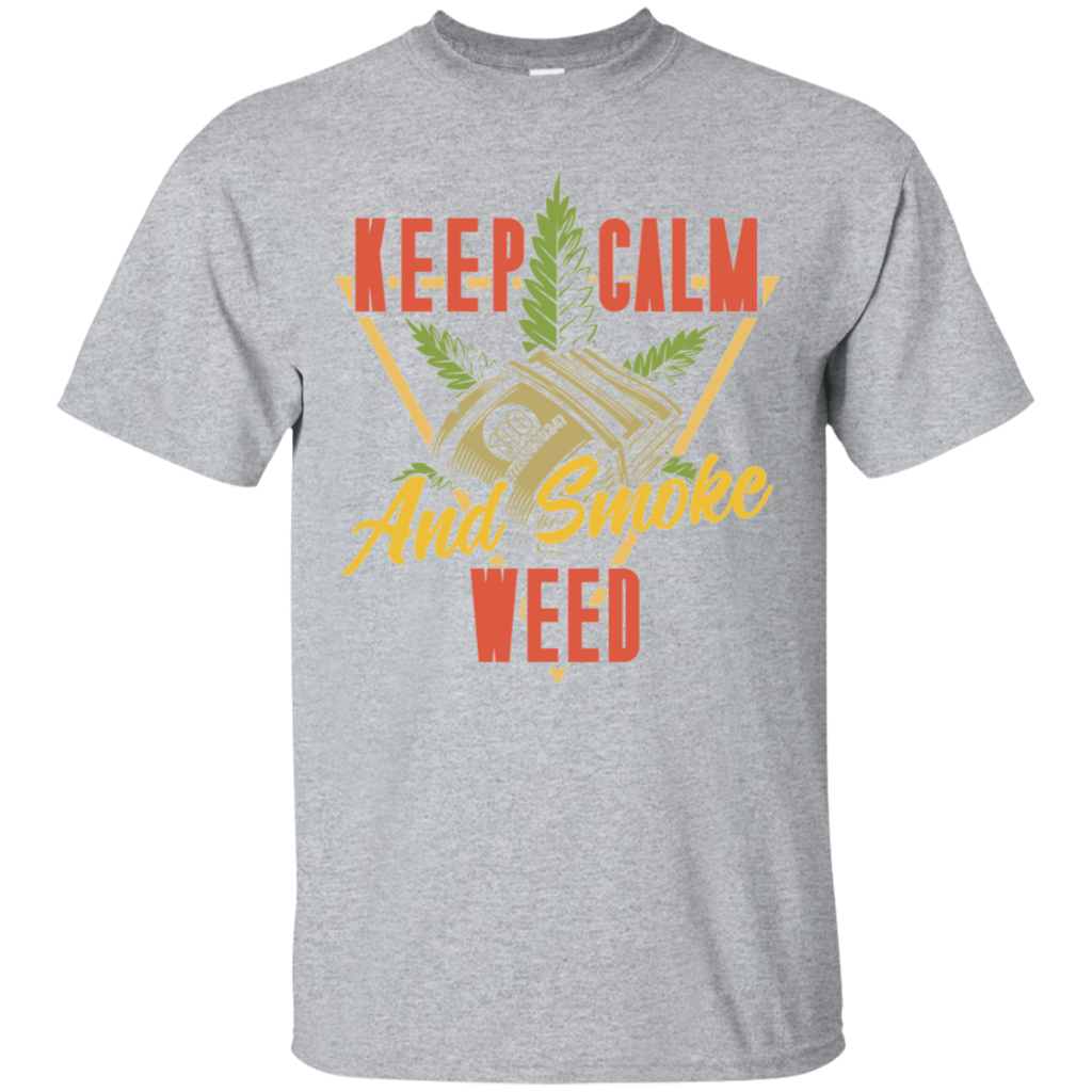 Keep Calm and Smoke T-Shirt