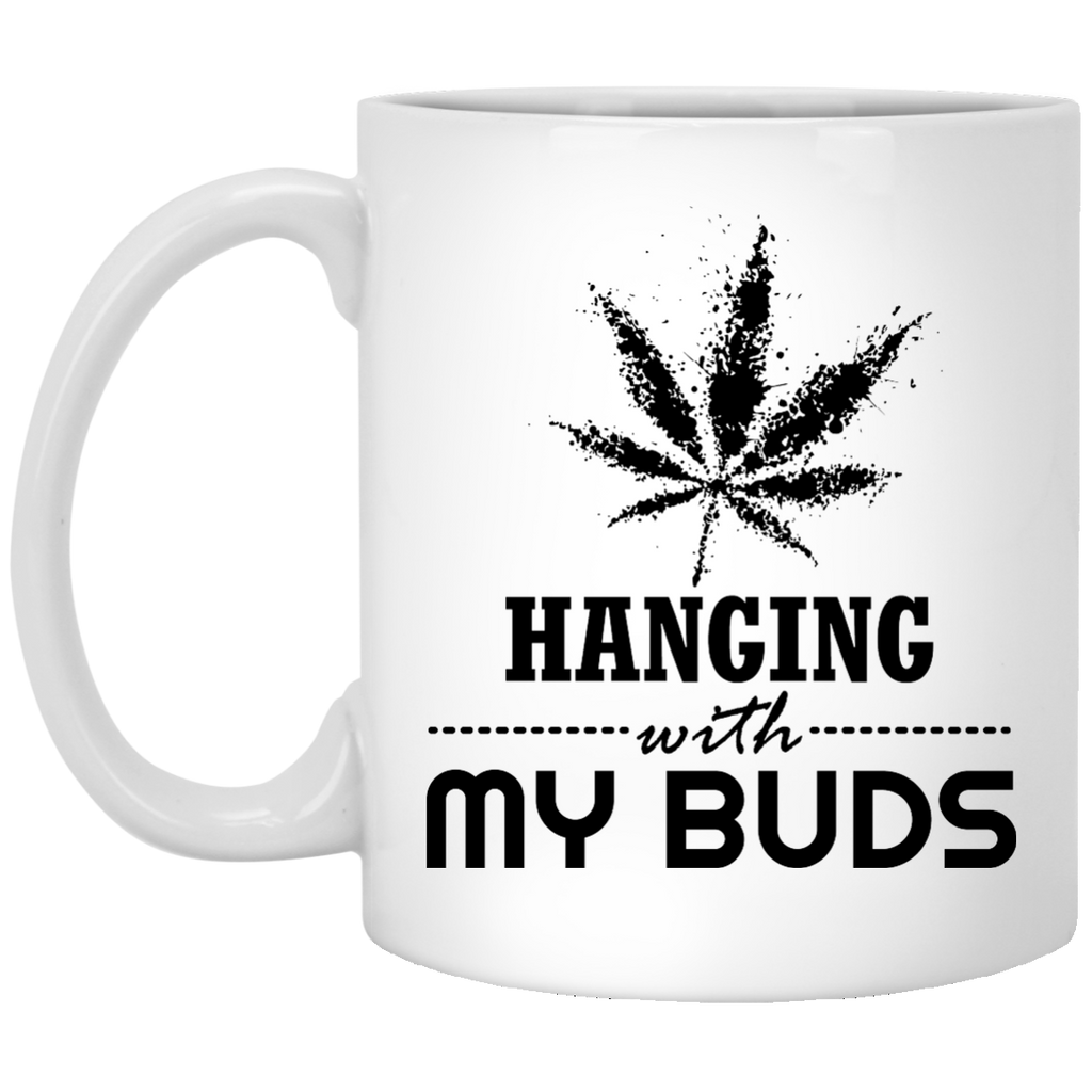 Hanging With My Buds Mug