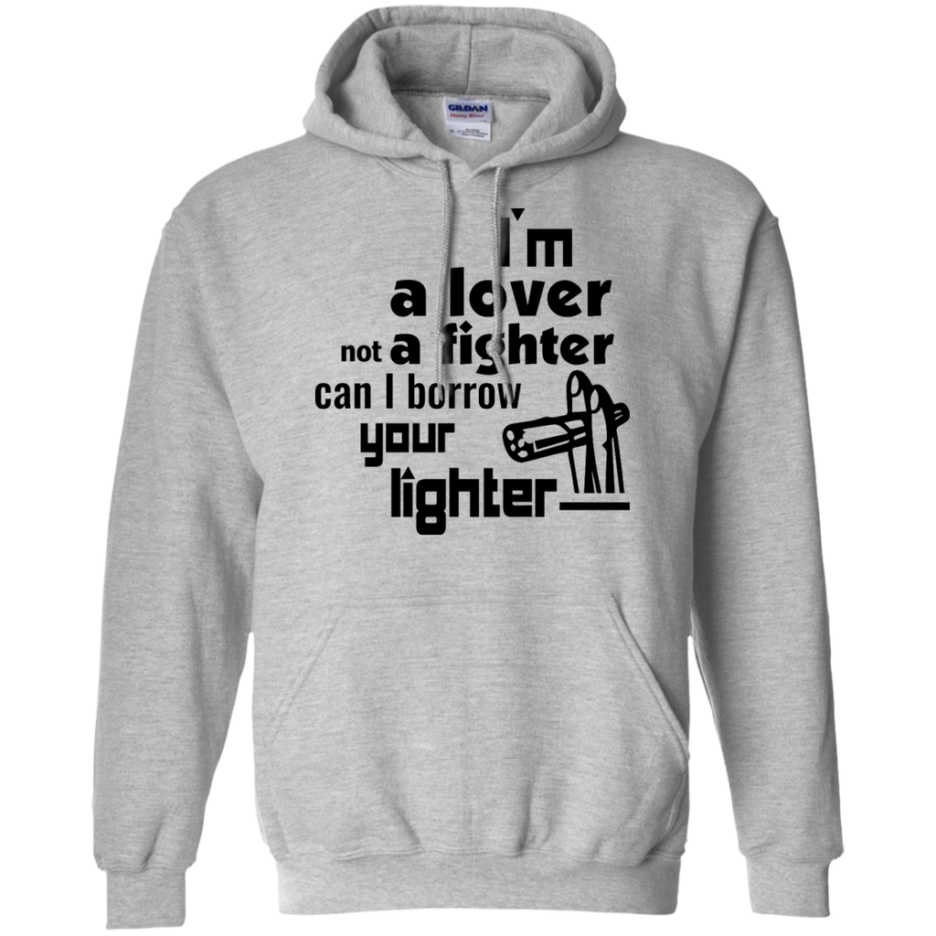 Lover Not A Fighter Hoodie