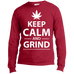 Keep Calm And Grind Men's Long Sleeve T-Shirt