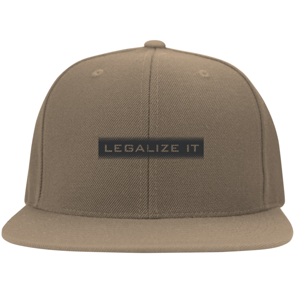 Legalize It Flat Bill Cap