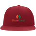 Blaze and Leaf Flat Bill Cap