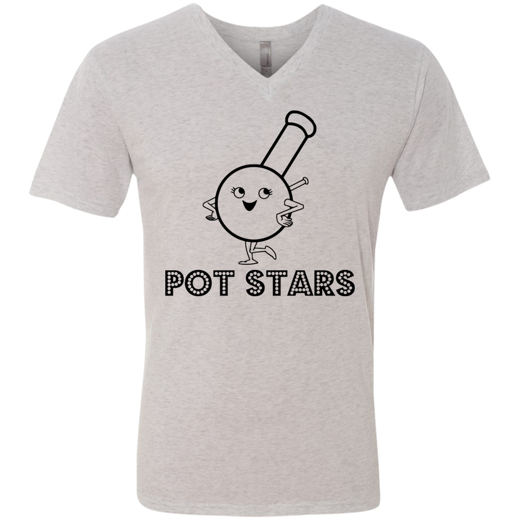 Pot Stars Men's V-Neck T-Shirt