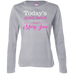 Sponsored By Mary Jane Ladies Long Sleeve T-Shirt