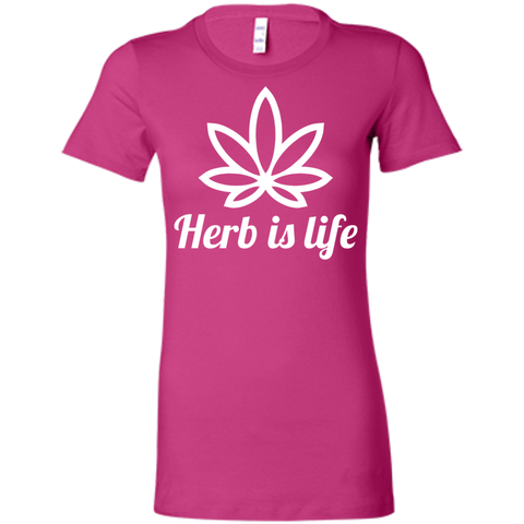 Herb Is Life Ladies T-Shirt