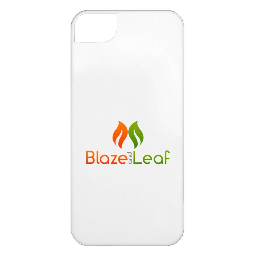Blaze And Leaf Logo iPhone 5 Case