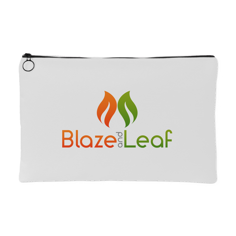 Blaze And Leaf Pot Purse