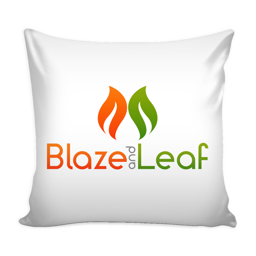 Blaze and Leaf Cushion Cover