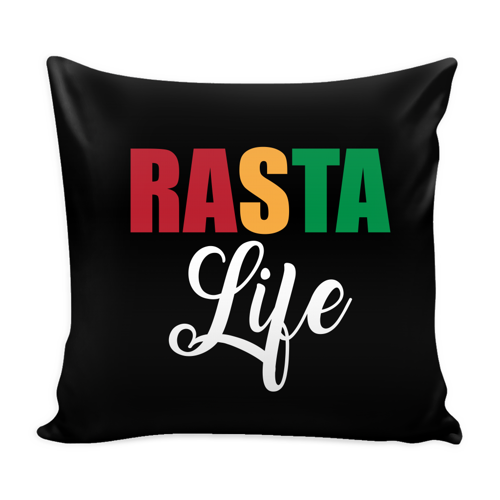 Rasta Life Cushion Cover