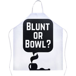 Blunt Or Bowl Apron