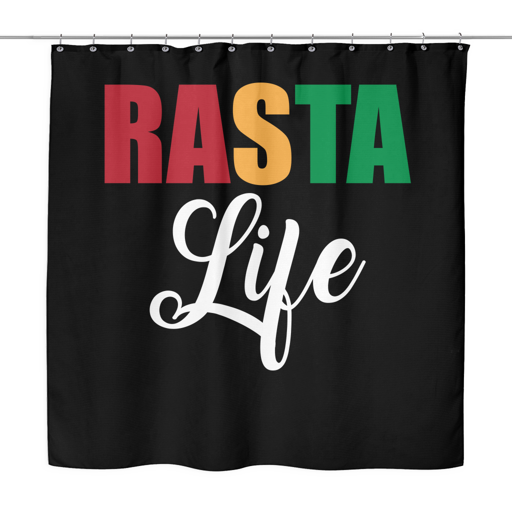 Rasta Life Shower Curtain