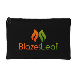 Blaze And Leaf Black Pot Pouch