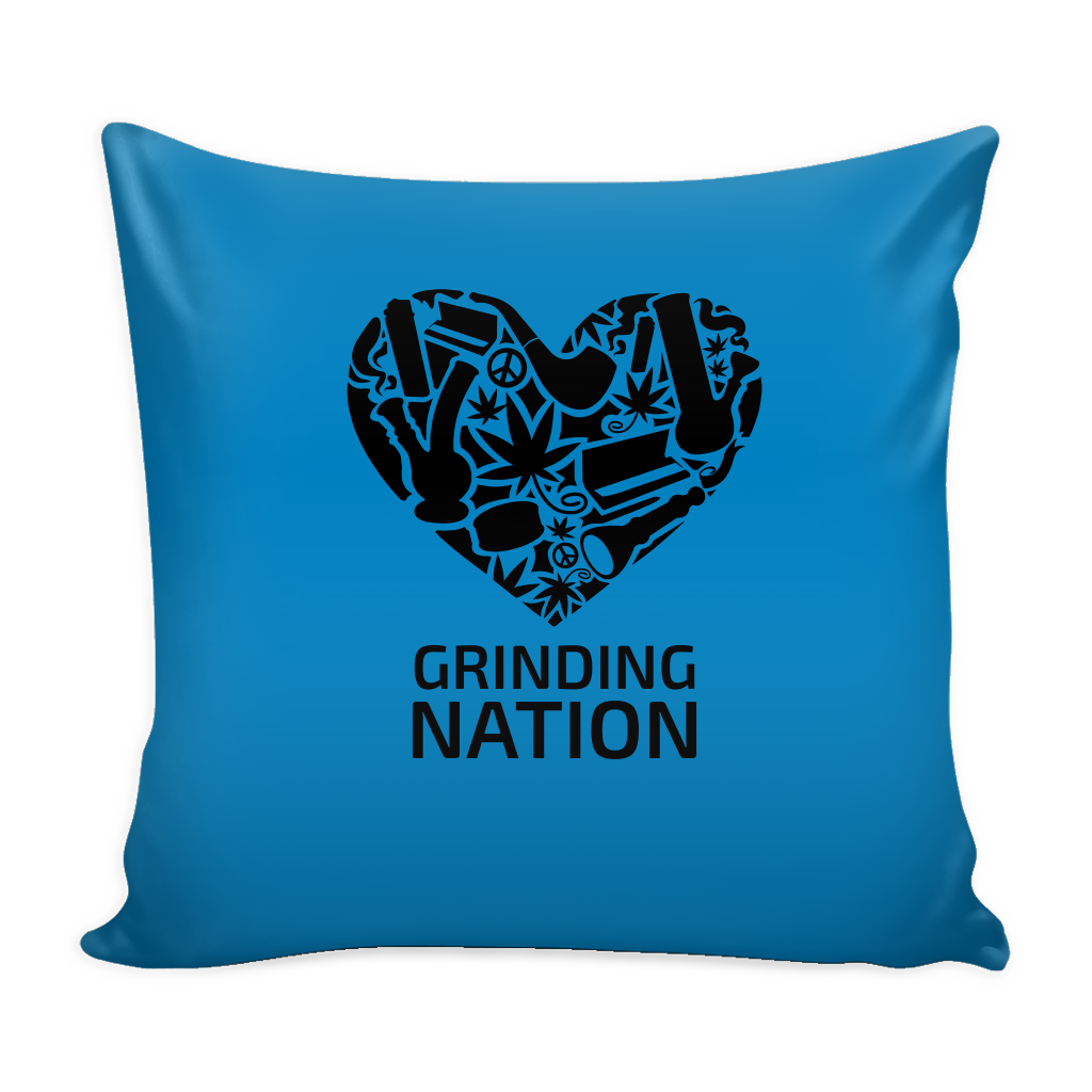 Grinding Nation Cushion Cover