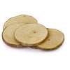 Image of 20pcs 5-6CM Wood Log Slices Discs for DIY Crafts Wedding Centerpieces