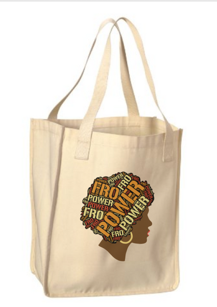PowerFro Organic Canvas Market Tote