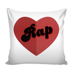 I Love Rap Pillow
