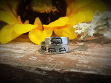 Mama Bear Hand-Stamped Rings