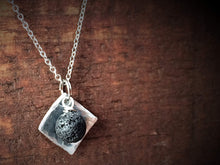 Square Essential Oil Diffuser Necklace