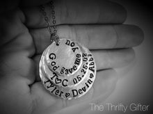 """God Gave Me You"" Personalized Necklace"